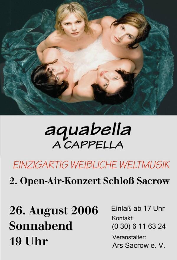 2. Open-Air-Konzert Schloss Sacrow